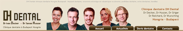 IMPLANT DENTAIRE HONGRIE : Europa Dental Budapest